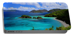 Thank You St. John Usvi Portable Battery Charger by Fiona Kennard