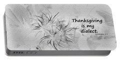 Thanks Giving Portable Battery Charger