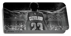 Thanks Lebron Portable Battery Charger by Frozen in Time Fine Art Photography
