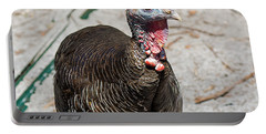Thanksgiving Escapee Portable Battery Charger by Kenneth Albin