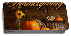 Thanksgiving I Portable Battery Charger