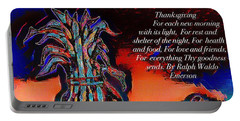 Thanksgivingblessing Portable Battery Charger