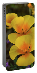 Portable Battery Charger featuring the photograph That Golden Spring Glow  by Saija Lehtonen