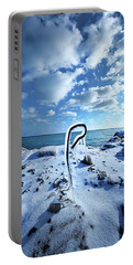 Portable Battery Charger featuring the photograph That One Weird Thing by Phil Koch