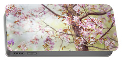 Portable Battery Charger featuring the photograph That Tender Joyful Spring by Jenny Rainbow