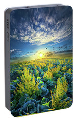 That Voices Never Shared Portable Battery Charger by Phil Koch