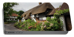 Thatched Cottages In Micheldever Portable Battery Charger