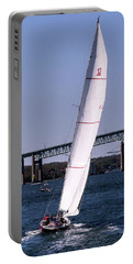 Portable Battery Charger featuring the photograph The 12 Newport Rhode Island by Tom Prendergast