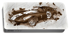 The 1965 Ford Cobra Mustang Portable Battery Charger by Gary Bodnar
