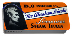 The Abraham Lincoln Portable Battery Charger