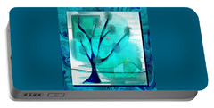 The Abstract Tree Portable Battery Charger by Iris Gelbart