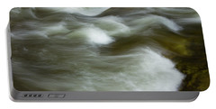 Portable Battery Charger featuring the photograph The Action On Top by Mike Eingle