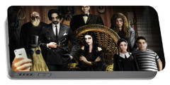 The Addams Family Portable Battery Charger by Alessandro Della Pietra
