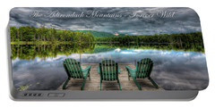 The Adirondack Mountains - Forever Wild Portable Battery Charger