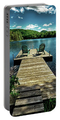 The Adirondacks Portable Battery Charger by David Patterson