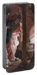 The Adoration Of The Wise Men Portable Battery Charger