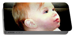 Portable Battery Charger featuring the photograph The Age Of Innocence by Barbara Dudley