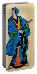The Age Of The Samurai 03 Portable Battery Charger by Dora Hathazi Mendes