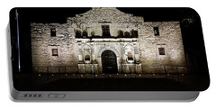 The Alamo On Halloween Portable Battery Charger