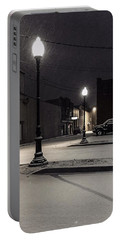 Portable Battery Charger featuring the photograph The Alley by Kendall McKernon
