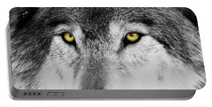 Portable Battery Charger featuring the photograph The Alpha Portrait by Mircea Costina Photography