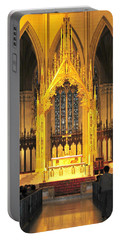 Portable Battery Charger featuring the photograph The Alter by Diana Angstadt