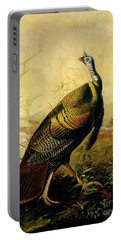 The American Wild Turkey Cock Portable Battery Charger