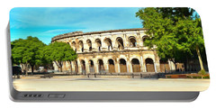 The Amphitheatre Nimes Portable Battery Charger