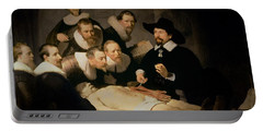 The Anatomy Lesson Of Doctor Nicolaes Tulp Portable Battery Charger