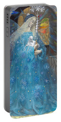 The Angel Of Truth Portable Battery Charger