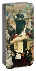 The Apotheosis Of Saint Thomas Aquinas Portable Battery Charger