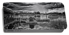 The Approaching Storm Walt Disney World Bw Mp Portable Battery Charger