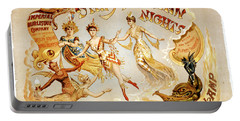 The Arabian Nights Burlesque Portable Battery Charger