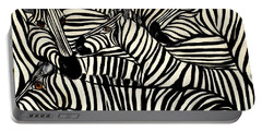 The Art Of Concealment Portable Battery Charger by Lisa Aerts