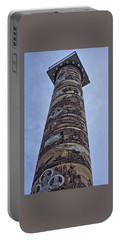 Portable Battery Charger featuring the photograph The Astoria Column by Thom Zehrfeld