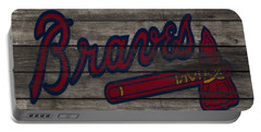 The Atlanta Braves 3e     Portable Battery Charger