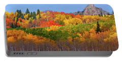 The Autumn Blanket Portable Battery Charger