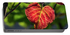 Portable Battery Charger featuring the photograph The Autumn Heart by Bill Pevlor