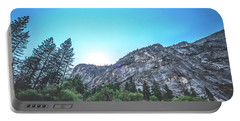 Portable Battery Charger featuring the photograph The Awe- by JD Mims