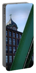 The Ayer Mill And Clock Tower Portable Battery Charger