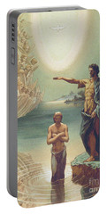 The Baptism Of Christ Portable Battery Charger