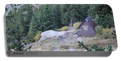 Portable Battery Charger featuring the photograph The Barr Trail A Frame by Christin Brodie