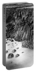 The Basalt Cliff Of Arnarstapi Portable Battery Charger