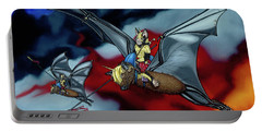 The Bat Riders Portable Battery Charger