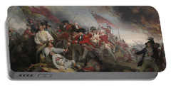 The Battle Of Bunker's Hill On June 17th 1775 Portable Battery Charger