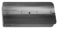 The Bay Bridge B/w Portable Battery Charger