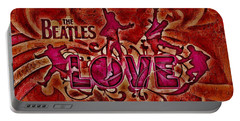The Beatles Love Portable Battery Charger