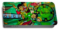 The Beatles - Pinball Art Portable Battery Charger