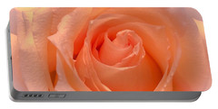 The  Beauty Of A Rose  Copyright Mary Lee Parker 17,  Portable Battery Charger by MaryLee Parker