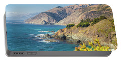 The Beauty Of Big Sur Portable Battery Charger by JR Photography
